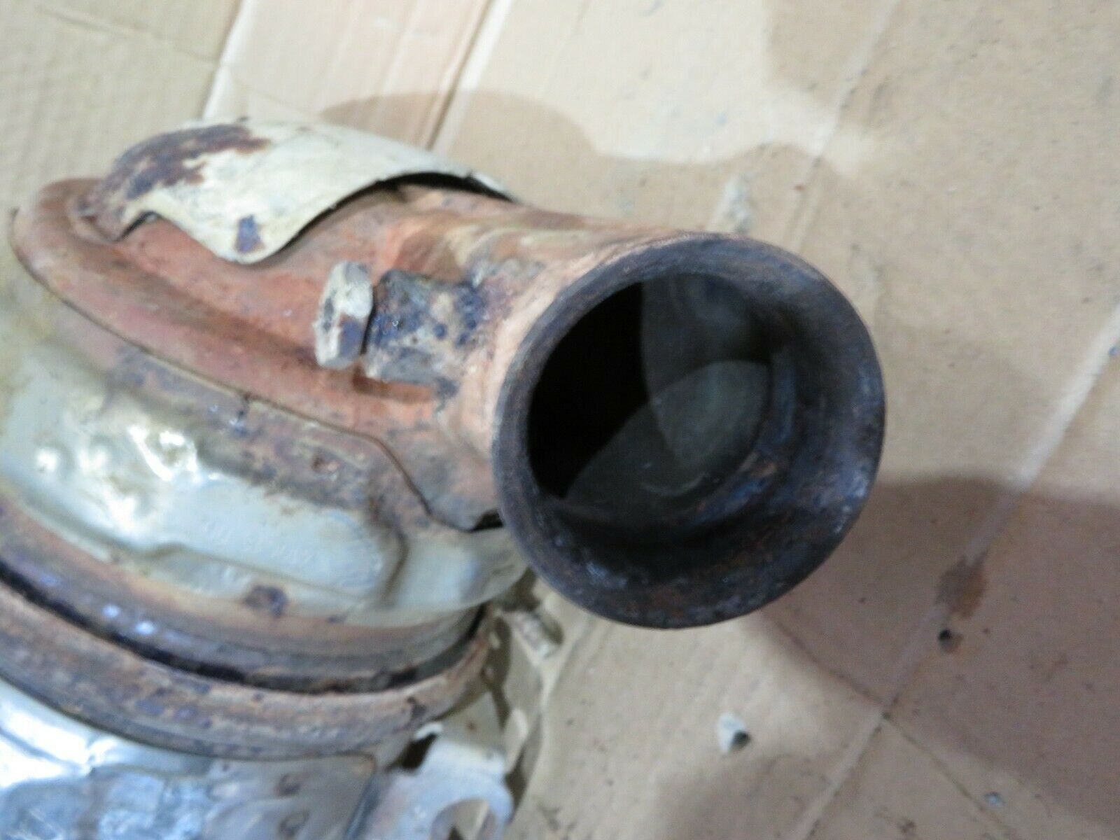 CITROEN BERLINGO B9 VAN 10-18 1 6 HDI DPF CATALYTIC CONVERTER P/N:  9676884980