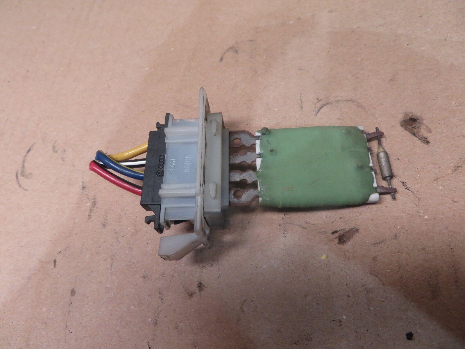 vw caddy 2004 heater blower motor fan resistor breakeryard com rh breakeryard com blower motor resistor on a 2002 mazda protege