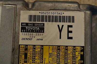 Toyota Prius Air Bag Module 89170-47110 Prius 1.8 Hybrid SRS Module 2011