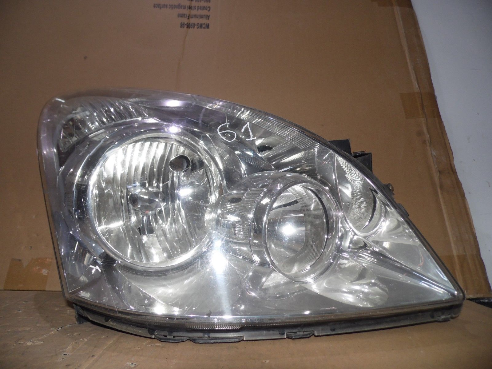 Toyota Corolla Verso 2004 2009 Offside D S Headlight Driver Side Breakeryard