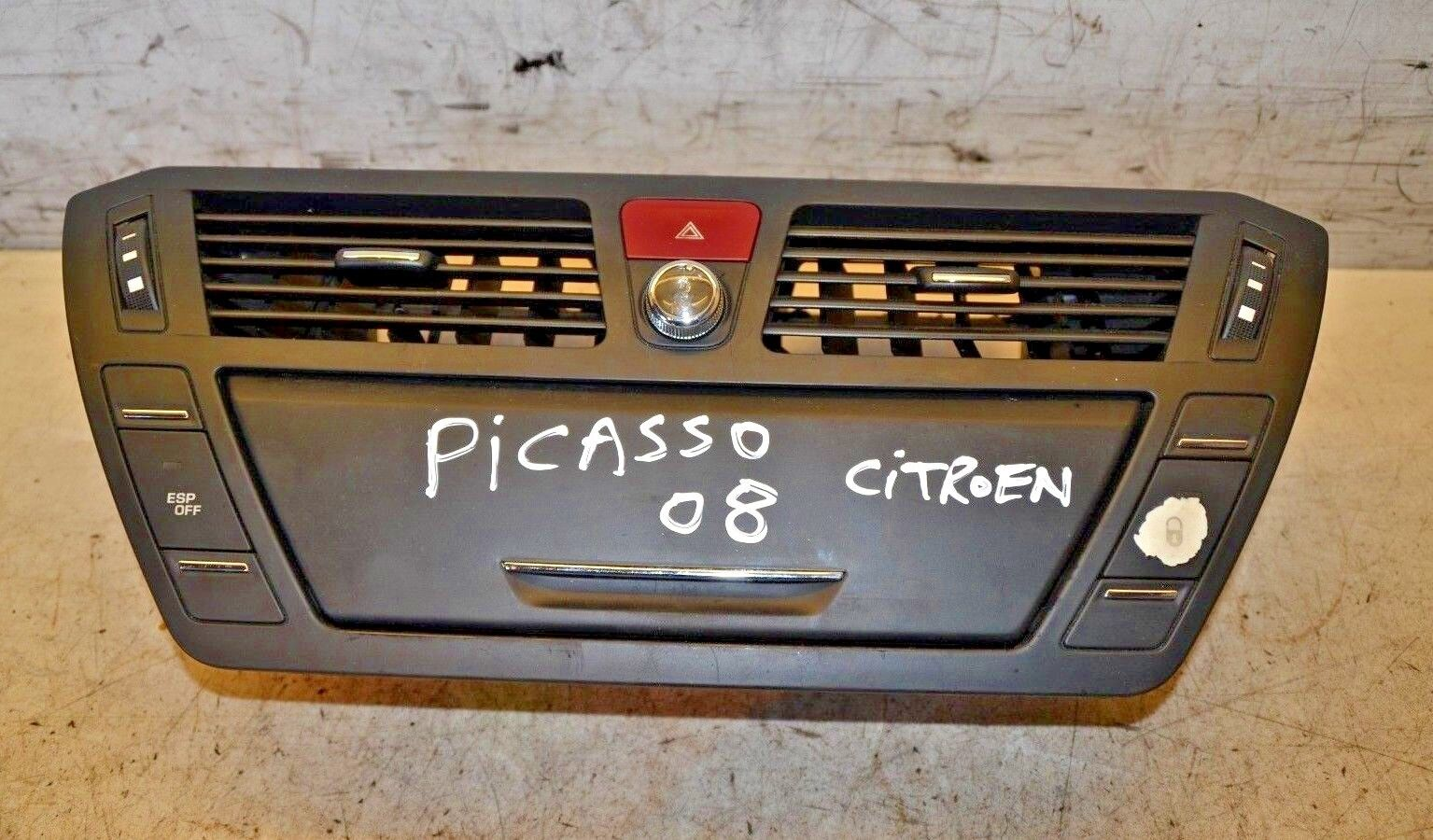 Citroen C4 Middle Air Vent C4 Grand Picasso Dashboard Air Vent 2008