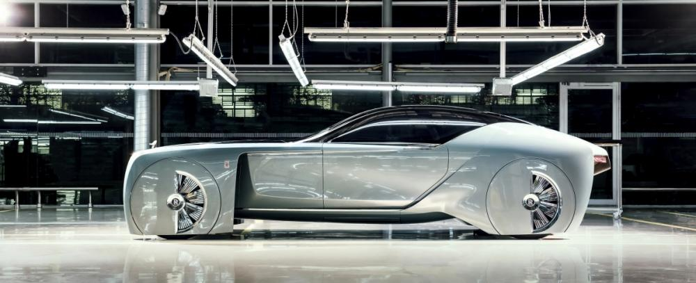 Rolls-Royce: The Next 100 Concept Car was one of the highlights of 2016