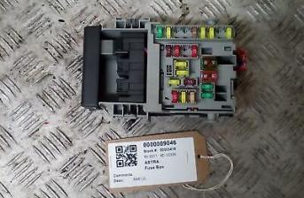vauxhall astra mk6 j 09-18 interior fuse box 13222786